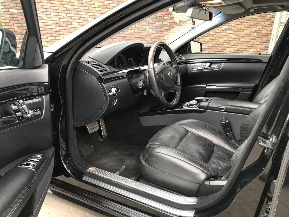 Mercedes W221 restyling 2010 г