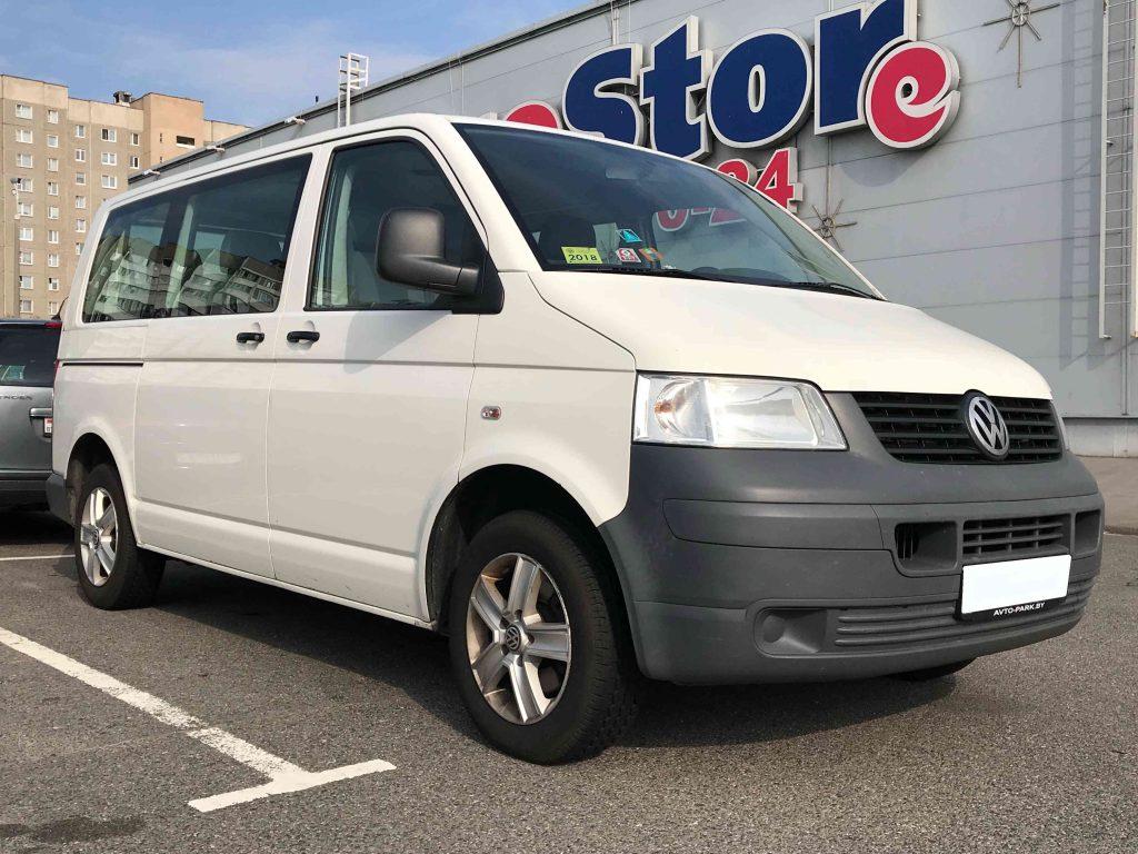 VW Transporter 8+1 от 95 Рублей