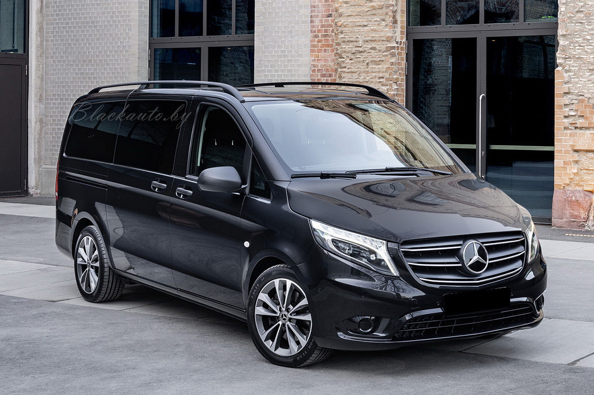 Mercedes VITO 2015 Black Long 8+1