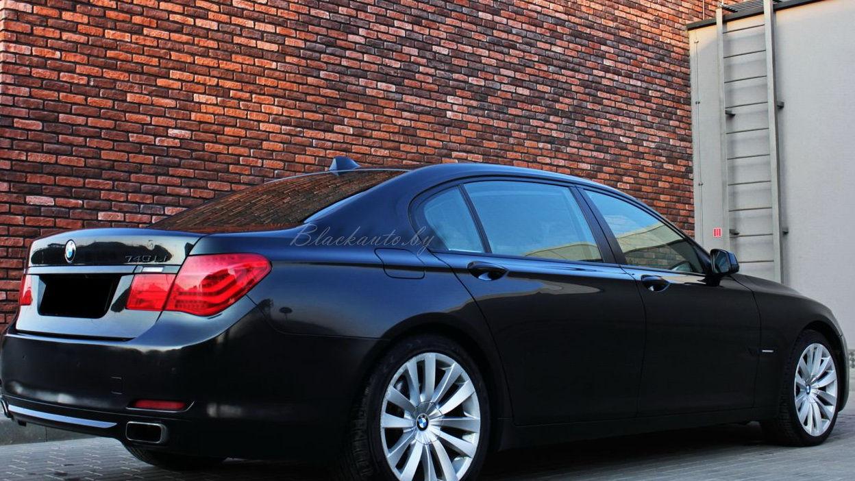 Аренда BMW 740 F02 Long с Водителем